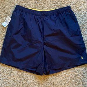 Navy Blue Swim Trunks